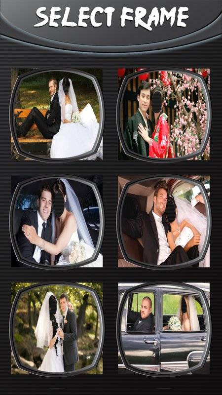 婚礼情侣照片编辑截图3