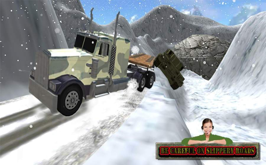 爬坡道 卡车 军事 驾驶 模拟器截图3