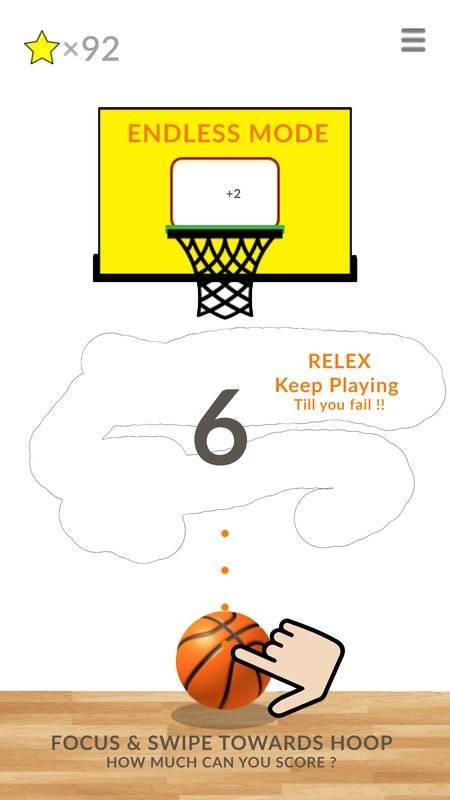 篮球滑动星 - 篮球模拟游戏