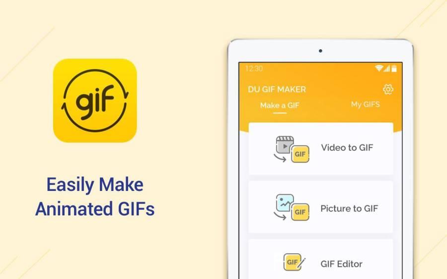 DU GIF Maker – GIF制作、视频转GIF、图片转GIF、GIF编辑工具截图1