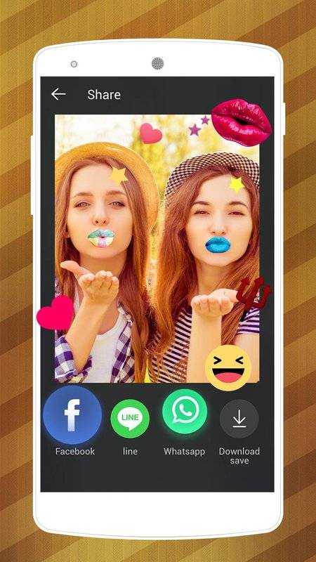 Lips Makeover Camera-Cool&funny Photo Editor截图2