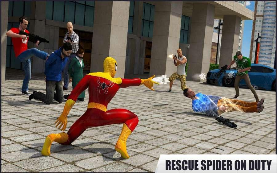 蜘蛛英雄:救援行动