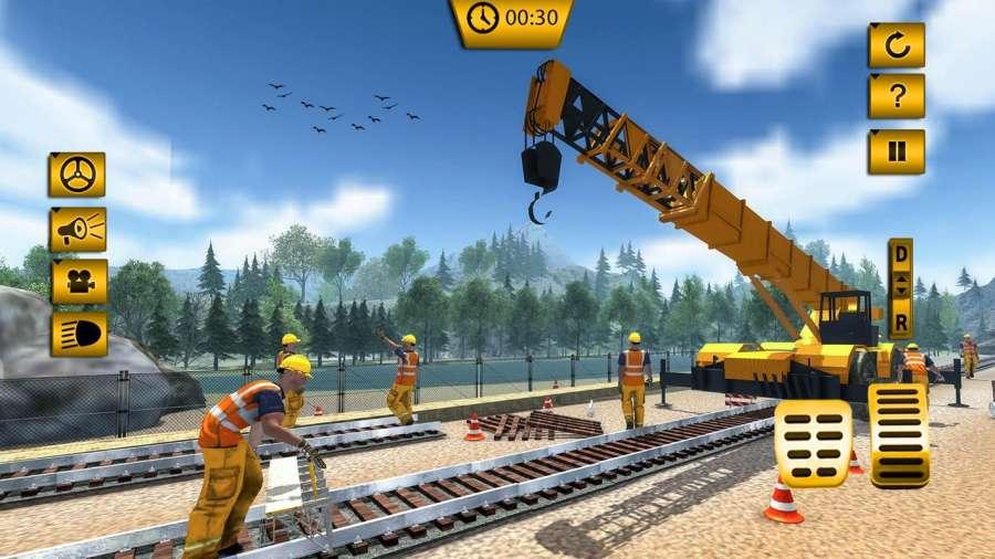 印度火车轨道建设:火车游戏