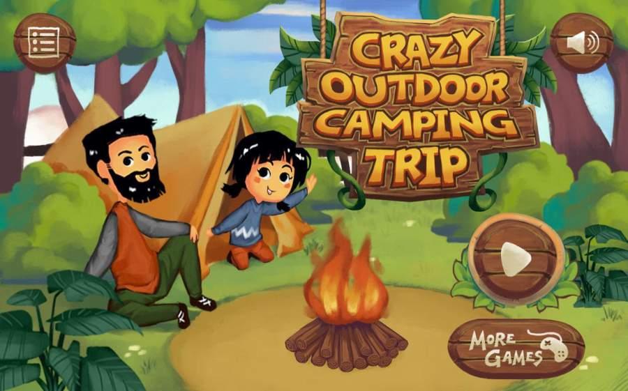疯狂的户外野营度假游戏截图3