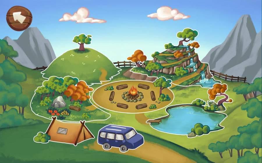 疯狂的户外野营度假游戏截图4