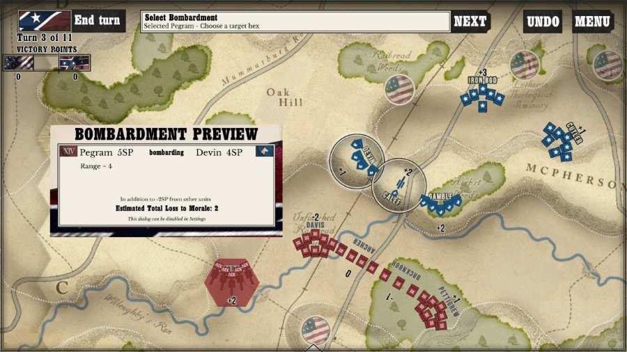 葛底斯堡战役:转折点 截图2