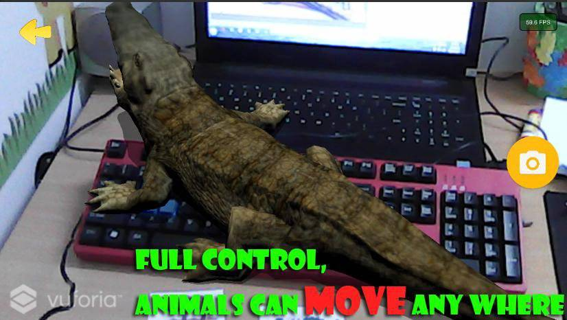Live Animals  4D Free AR截图0