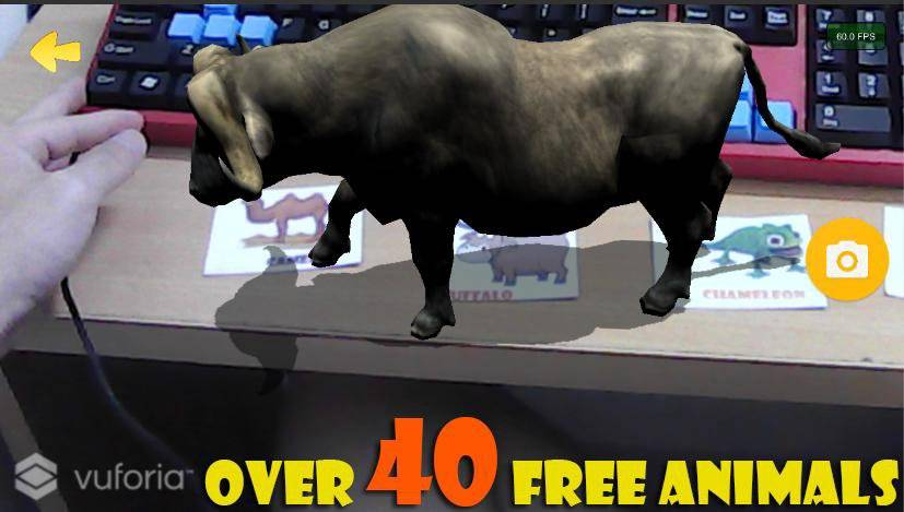 Live Animals  4D Free AR截图2