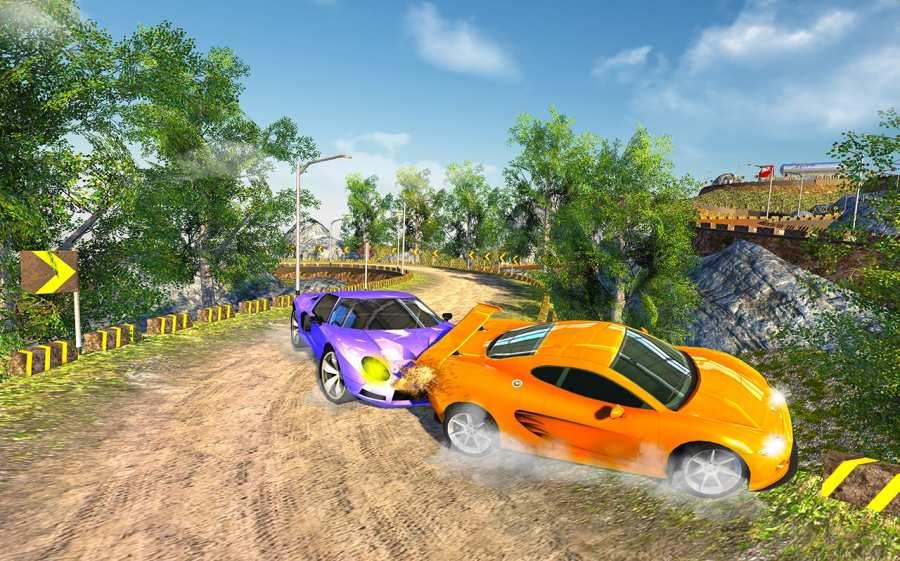 越野汽车驾驶模拟器的3D山截图4