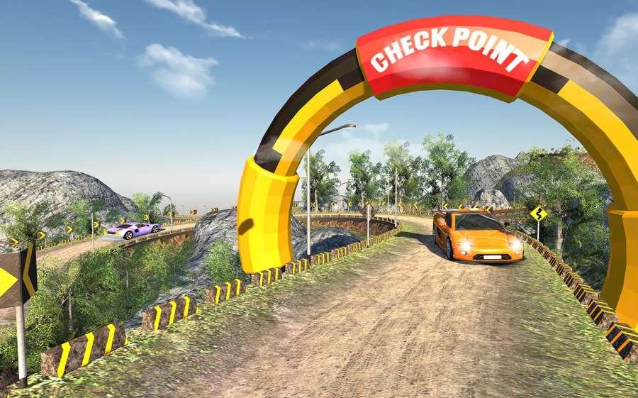 越野汽车驾驶模拟器的3D山截图5