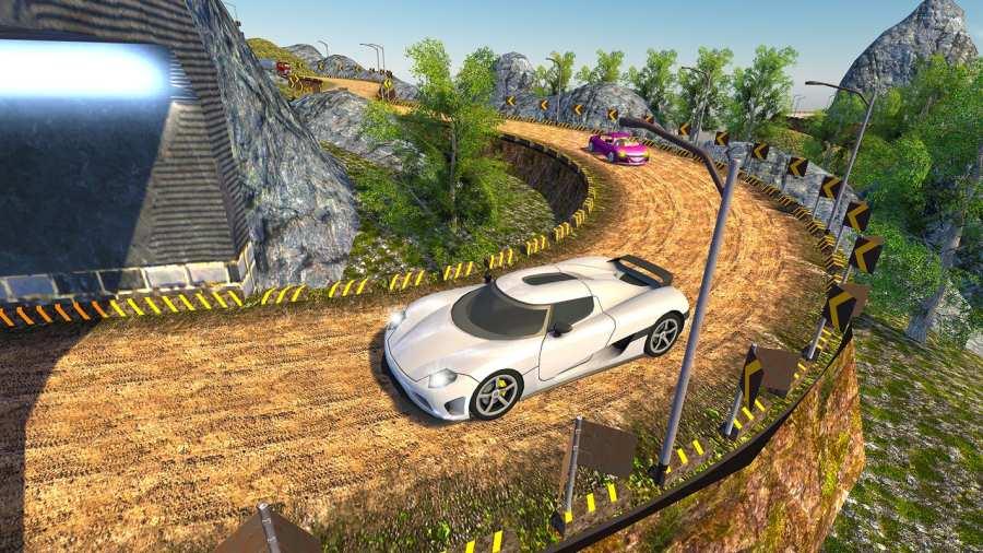 越野汽车驾驶模拟器的3D山截图6