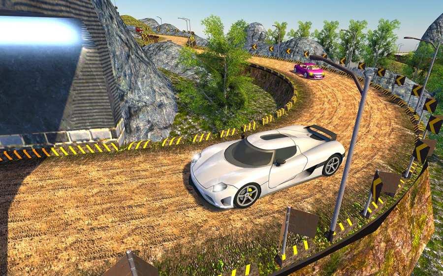 越野汽车驾驶模拟器的3D山截图7