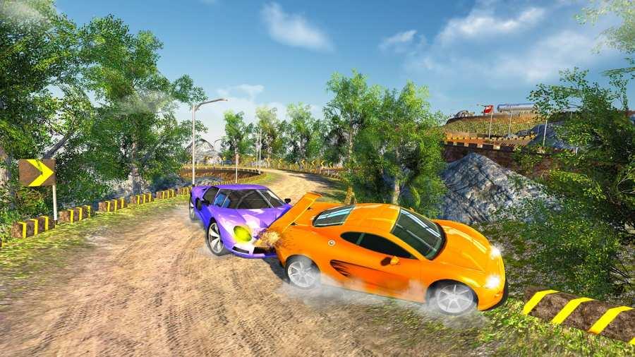 越野汽车驾驶模拟器的3D山截图8