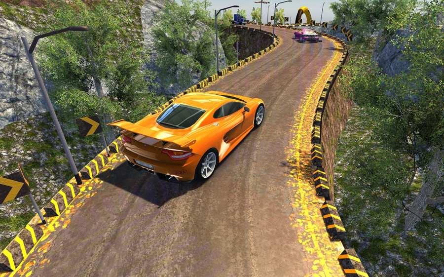 越野汽车驾驶模拟器的3D山截图9