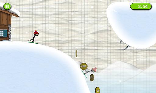 火柴人滑雪截图1