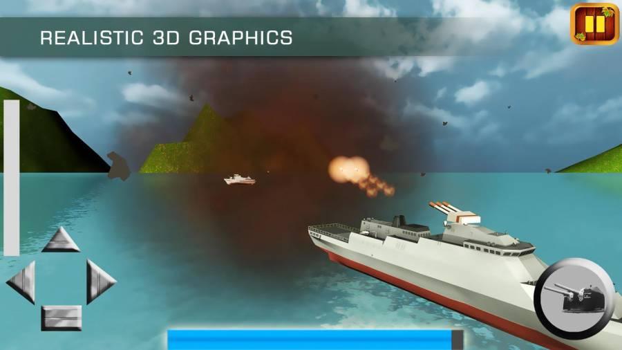 海军战舰舰队WW2:海盗战斗截图1