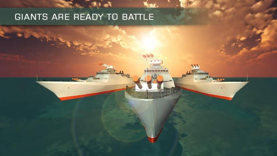 海军战舰舰队WW2:海盗战斗截图2