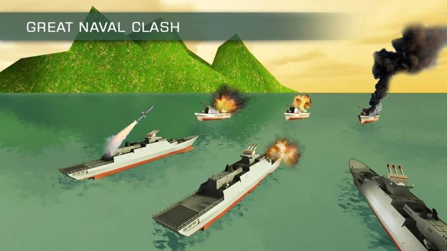 海军战舰舰队WW2:海盗战斗截图3