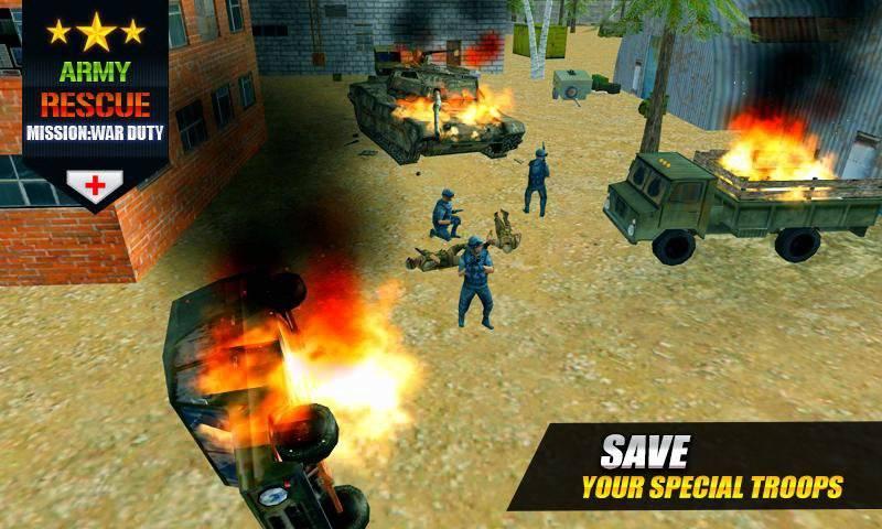 军队救援任务3d截图2