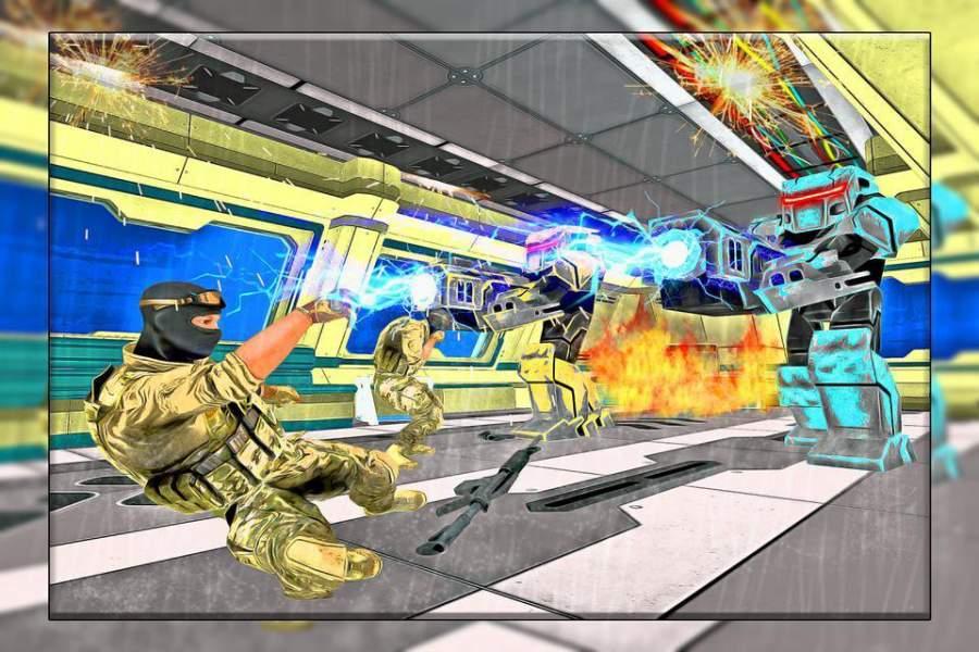机器人战争未来派战斗 - 机器人生存截图1