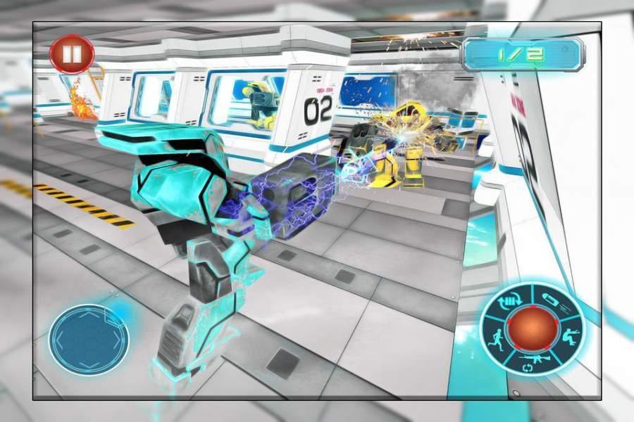 机器人战争未来派战斗 - 机器人生存截图3