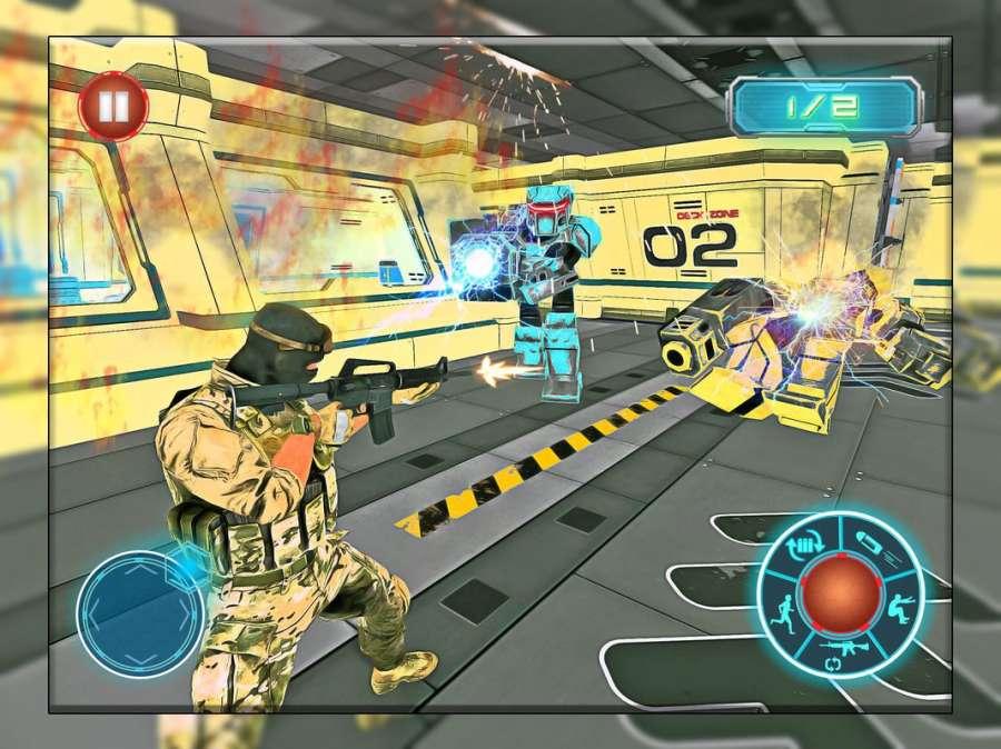机器人战争未来派战斗 - 机器人生存截图4
