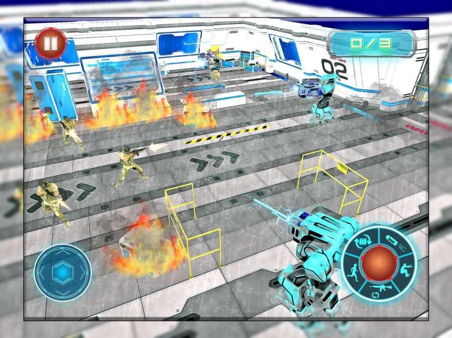 机器人战争未来派战斗 - 机器人生存截图6