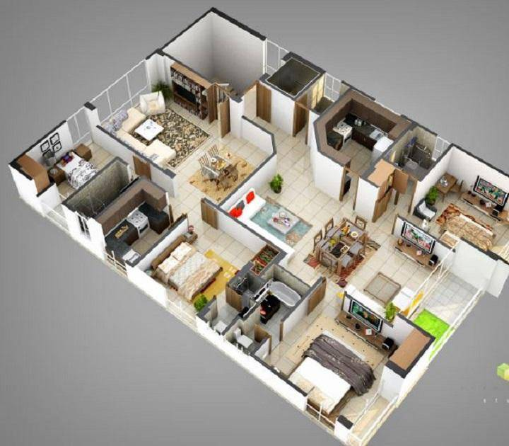 4D住宅设计