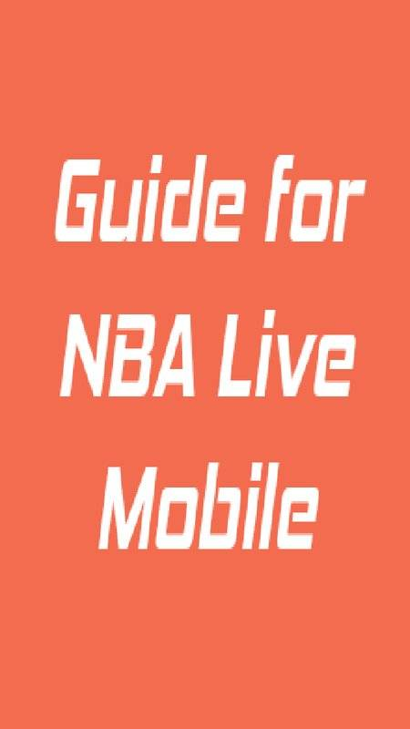 Cheats for NBA Live Mobile截图1