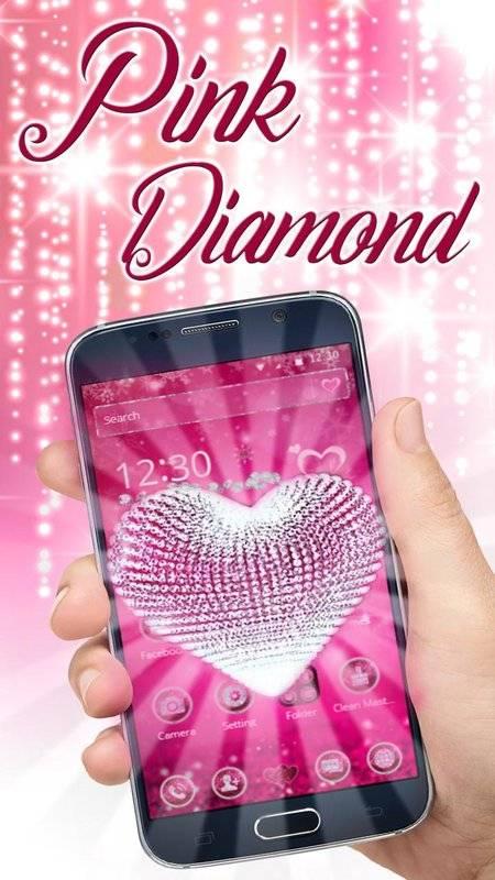 粉紅鑽石愛心