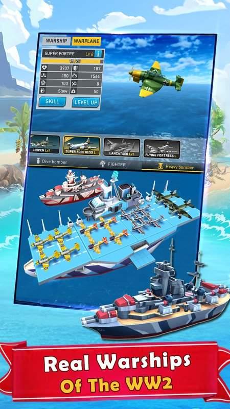 海岛的纷争:战舰冲突,最新动作射击海战游戏截图3