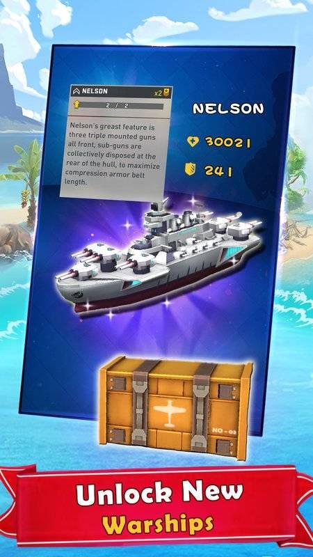 海岛的纷争:战舰冲突,最新动作射击海战游戏截图6