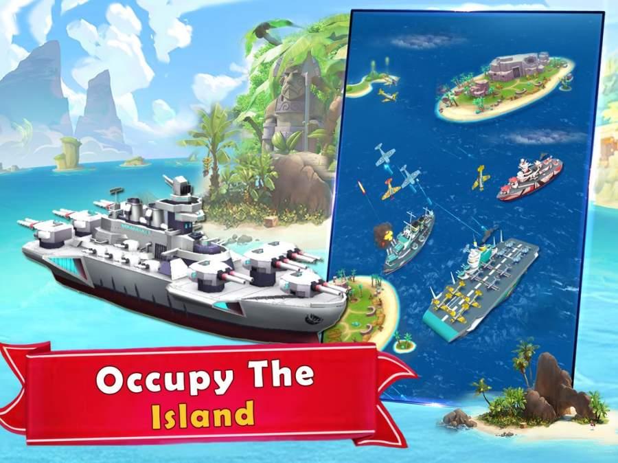 海岛的纷争:战舰冲突,最新动作射击海战游戏截图7