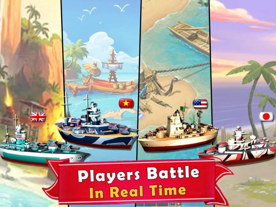 海岛的纷争:战舰冲突,最新动作射击海战游戏截图8