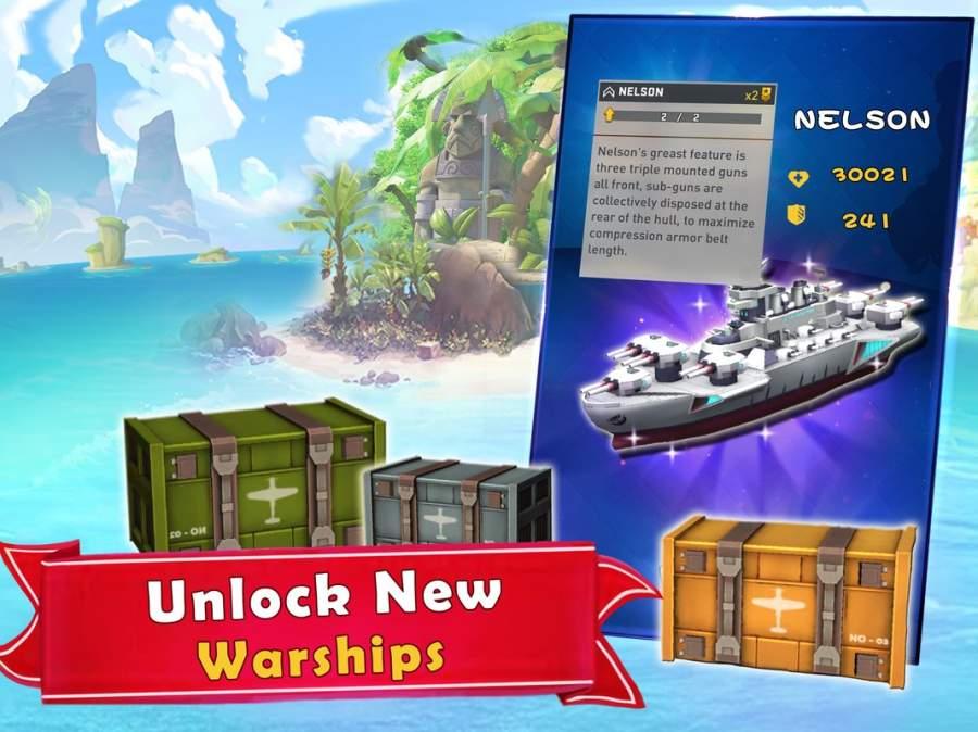 海岛的纷争:战舰冲突,最新动作射击海战游戏截图9