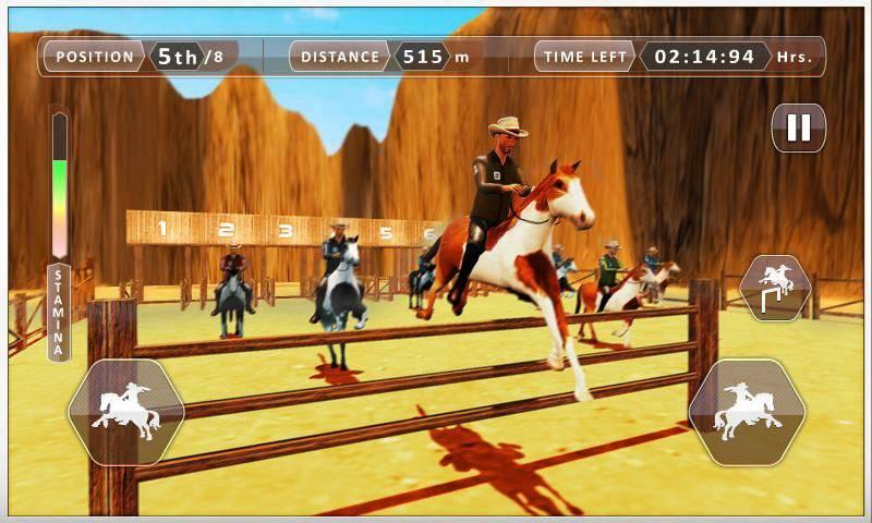赛马德比任务模拟 - 骑马冠军