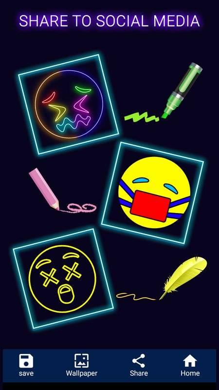 我的表情符號:繪制&彩色表情符號