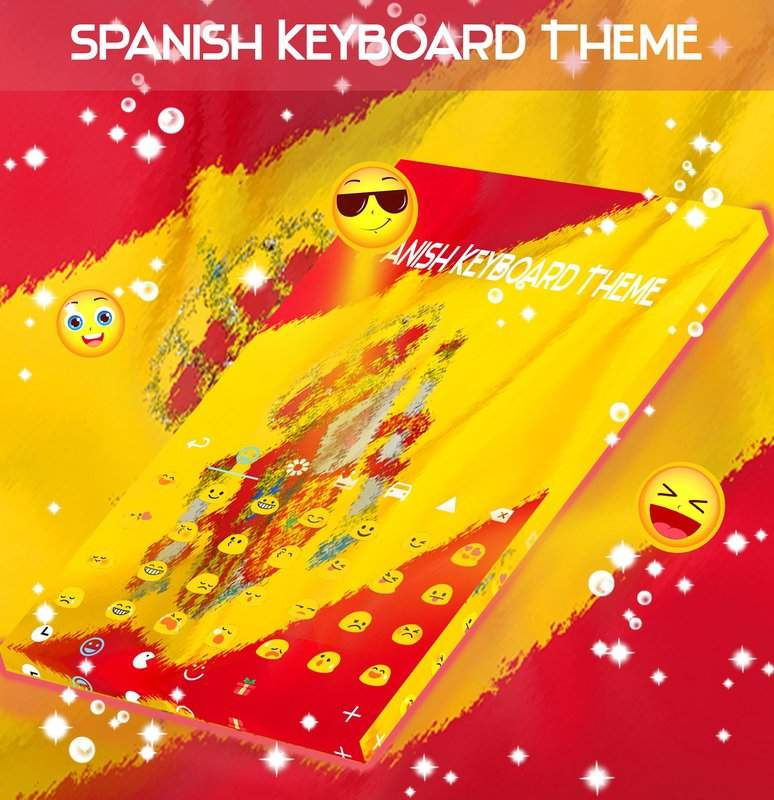 西班牙语键盘主题截图3
