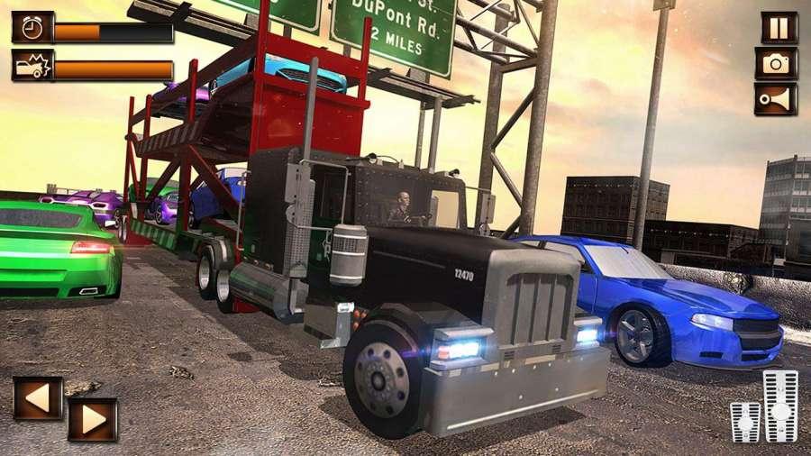 真正的城市卡車模擬器