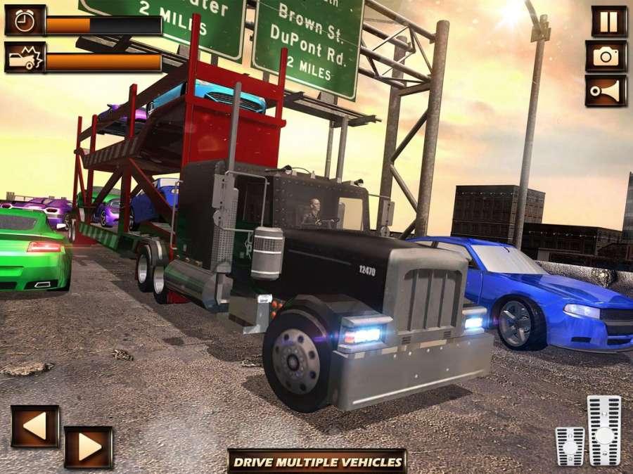 真正的城市卡車模擬器截图2