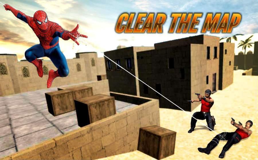蜘蛛英雄反恐英雄