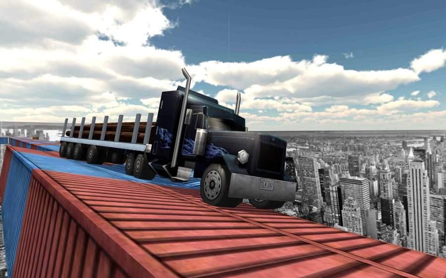 不可能的轨道卡车模拟器