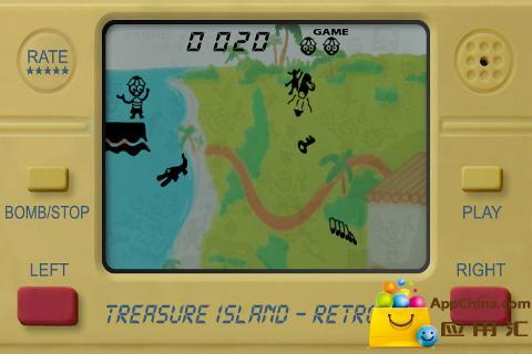金银岛LCD复古截图0
