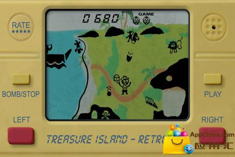金银岛LCD复古截图1