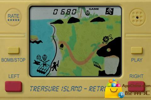 金银岛LCD复古截图2