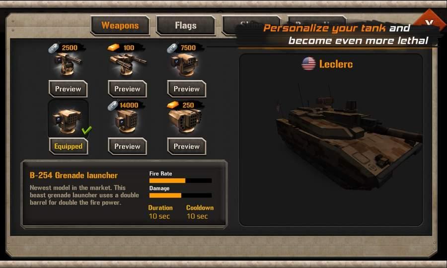 现代坦克力量:战争英雄截图1