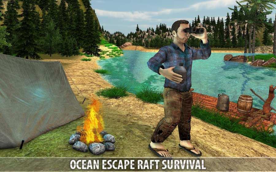 海洋逃生筏生存模拟截图6