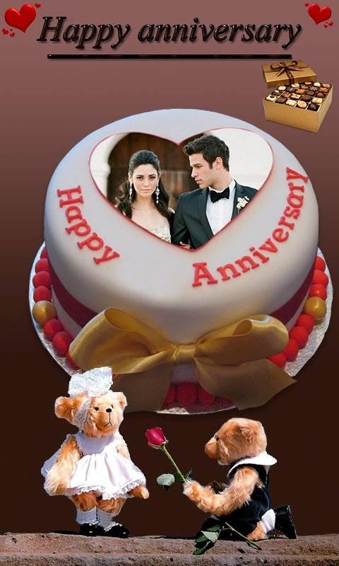 周年纪念蛋糕名称照片 - 情侣框架高清截图0