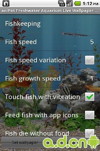 重力感应水族馆的鱼动态壁纸截图4