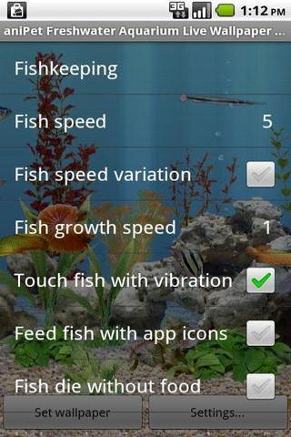 重力感应水族馆的鱼动态壁纸截图6